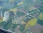 Acaster Malbis Airfield from 8000ft looking South.